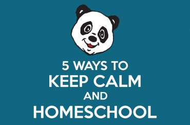 5 Ways to Keep Calm and Homeschool