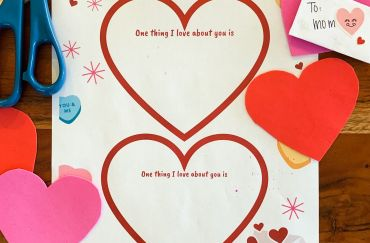 Homeschool Panda Valentine's Day Printable