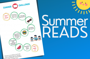 A Second Summer Reading Challenge from HSP