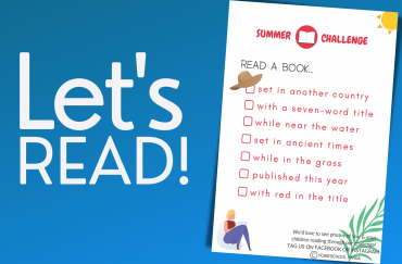 Let's Read! Summer Reading Challenge #1